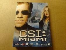 3-DISC DVD BOX / CSI: MIAMI - SEIZOEN 5 - AFLEVERINGEN 5.1 - 5.12 ( DEEL 1 )