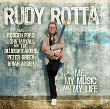 CD Rudy Rotta Me, My Music and My Life with John Mayall Und Robben Ford 2CDs