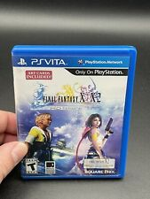 Final Fantasy X /X-2 Hd Remaster Ps Vita Game Complete Cib Sony PlayStation Rpg