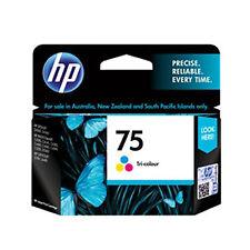 2017 IN RETAIL BOX Genuine OEM HP 75 HP #75 Color Ink CB337WN Photosmart D5368