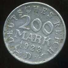 ALLEMAGNE  200 mark  1923 D