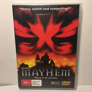 Mayhem  (DVD, 2001) Region 4 PAL
