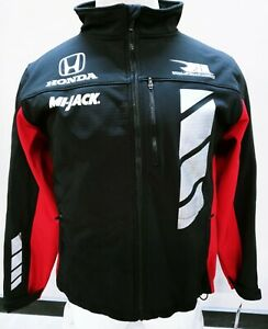 Indy Series Rahal Lettermen Lanigan Honda Downforce Soft Shell Jacket With...