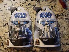 Hasbro Star Wars Black Series -- Clone Wars Arc Trooper Echo + Pilot Hawk, NIB
