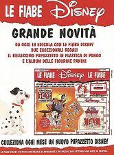 X0858 La Carica dei 101 - Le fiabe Disney - Pubblicità del 1995 - Advertising