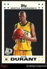 2007-08 Topps Rookie Set #2 Kevin Durant RC Rookie Card