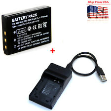Battery / Charger For KLIC-5001 Kodak EasyShare P712 P850 P880 Z730 Z760 Z7590