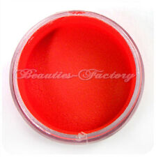 10g Unghie Polvere Acrilica Nail Art Tips Gel UV Costruttore Colore Rosso