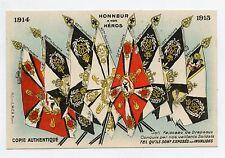 WW1 . Joli Faisceau de Drapeaux Conquis par nos vaillants Soldats . Flags