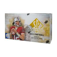 2013 Upper Deck SP Authentic Football Hobby Box