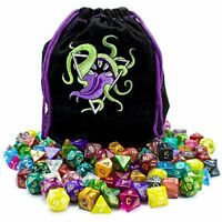 Wiz Dice Bag of Devouring: 140 Polyhedral Dice in 20 Complete Sets