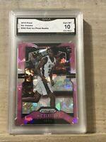 NIC CLAXTON 2019 PRIZM PINK ICE ROOKIE  GMA 10 Gem Mint (J4)