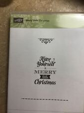 stampin up stsmp set merry little christmas