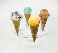 Acrylic Ice Cream cone Sushi roll holders Display Stand restaurant party event