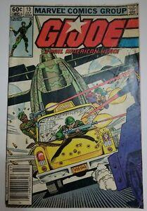 GI JOE #13 (Marvel Comics 1983) G.I. Joe Real American Hero, Larry Hama, Torpedo