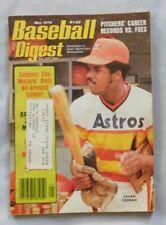Cesar Cedeno Houston Astros May 1978 Baseball Digest ex