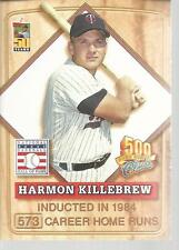 2001 Topps Post 500 Home Run Club Harmon Killebrew #6 Of 8 Orioles Hall Of Fame