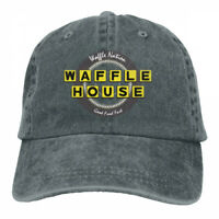 Waffle House Fast Food cowboys Adjustable Cap Snapback Baseball Hat