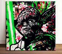 """47/"""" Street Art Graffiti Urban Canvas STAR WARS TROOPER HELMET Australia painting"""