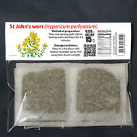 "UK Herbal Tea ""St John's wort"" Organic Authentic Hand Picked BIO Natural Product"