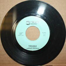 NORMAN THRASHER Meek Man **TROUBLE** New Orleans R&B Swing 45 on 3-WAY 01