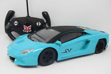 Lambo Radio Remote Control Car Rechargeable RC Sports Car LED Front Headlights