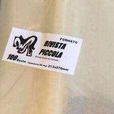 """100 BUSTE WR """"RIVISTA PICCOLA"""" 213x270 mm x Ken Parker Magazine Repubblica Oro"""