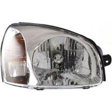 For Santa Fe 03-06, Passenger Side Headlight, Clear Lens