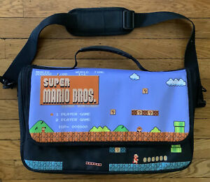 Super Mario Bros. Everywhere Messenger Bag Carrying Case for Nintendo Switch