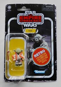"""STAR WARS NEW 2020 THE RETRO COLLECTION 3.75"""" BUBBLE VARIANT YODA MOC FIGURE TRC"""