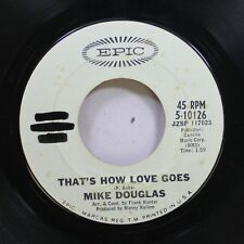Pop Promo 45 Mike Douglas - That'S How Love Goes / What Is A Square On Epic