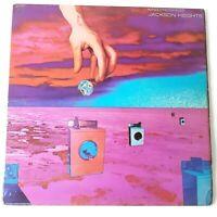 Jackson Heights - King Progress - Vinyl LP UK 1st Press Pink Scroll EX/VG+