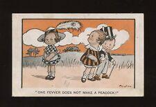 Artist F.G.LEWIN Comic Children Romance PPC used 1919
