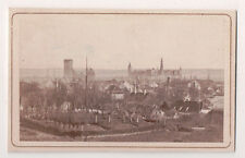 "Vintage CDV View of Kronborg castle & town of Helsingør, Denmark "" Elsinore """
