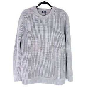 Joop Men's Pullover Franjo Size XXL Grey Cotton Waffle Pattern Knit Np 149 New