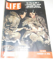 Life Magazine The Epic Of Man Stone Age Surviors Part III February 1956 072214R1