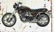 Yamaha XS1100 1978 Aged Vintage SIGN A4 Retro