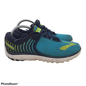Brooks PureFlow 6 Mens 10 Running Shoes Sneakers Athletic UK8 Blue Green