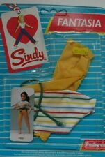 Vintage Pedigree Sindy Boxed Complete 1986 Fantasia Yellow Trousers Top Belt NEW