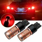 High Power Red 7440 7443 7440 30-SMD LED Bulbs Replace For Tail Brake Stop Light