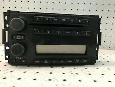 2005-2007 Chevrolet Uplander and others OEM AM FM CD Stereo