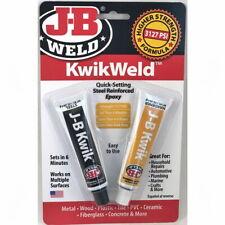JB Weld  KwikWeld Fast Setting Steel Reinforced Epoxy 2 x 28.4g