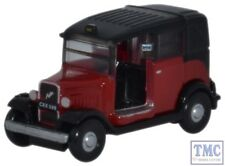 NAT004 Oxford Diecast Austin Low Loader Taxi Burgundy Austin Low Loader Taxi