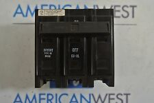 Bryant BR330 BR 3P 30A 240V Plug on Circuit Breaker - USED