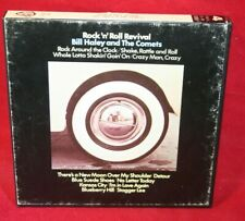 """7"""" Reel Tape- Bill Haley And His Comets ~ Rock 'n' Roll Revival ~ 3.75 IPS Test"""