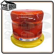 LED STROBE AMBER LENS 9 TO 24 VOLT HELLA HME6750A 60W PULSERAY