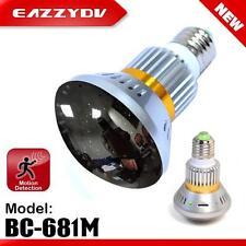 EazzyDV Home Monitoring Lamp BC-681M Bulb DVR Camera 64G SD Card  Electronics