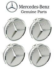 New Genuine Mercedes 4x Wheel Center Hub Cap for alloy wheel Oem new
