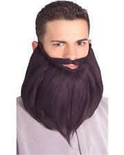 Black 8 Inch Beard & Mustache Shepherd Joseph Biblical Character Amish Rabbi
