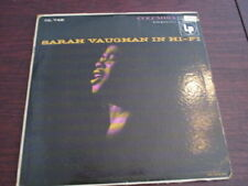 Sarah Vaughan In Hi-Fi  on LP